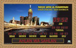 Jual Jam Digital Masjid Solo