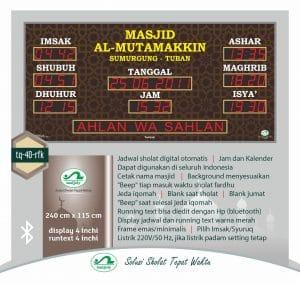 Pesan Jam Digital Masjid Di Solo