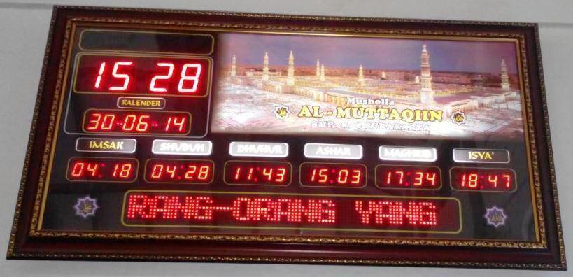 Harga Jam Digital Masjid Murah