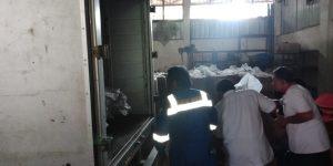 Toko Karpet Masjid Liniaji Kirim Pesanan Customer ke Komplek Perumahan Pertamina Bumi Patra